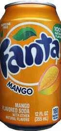 Газированный напиток «Fanta Mango»
