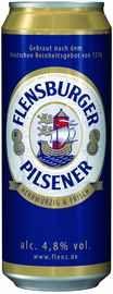 Пиво «Flensburger Pilsener» в жестяной банке