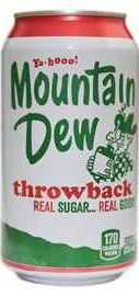 Вода «Mountain Dew Throwback»