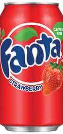 Газированный напиток «Fanta Strawberry»
