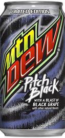 Напиток газированный «Mountain Dew Pitch Black»