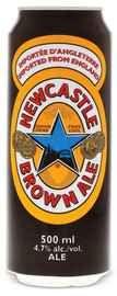 Пиво «Newcastle Brown Ale» в жестяной банке