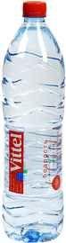 Вода негазированная «Vittel» пластик