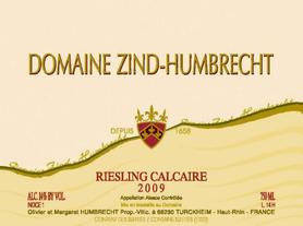 Вино белое сухое «Zind-Humbrecht Riesling Calcaire» 2013 г.