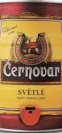 Пиво «Cernovar Svetle» кегля