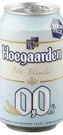 Пиво «Hoegaarden» 0.0 в жестяной банке