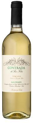 Вино белое сухое «Agricola San Felice Contrada di San Felice Bianco» 2015 г.