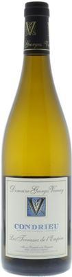 Вино белое сухое «Condrieu Les Terrasses de l'Empire, 1.5 л» 2014 г.