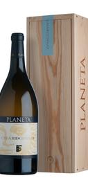 Вино белое сухое «Chardonnay» 2014 г., в индивидуальной деревянной коробке