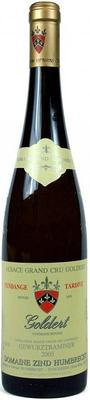 Вино белое сухое «Gewurztraminer Goldert Grand Cru, 0.75 л» 2003 г.