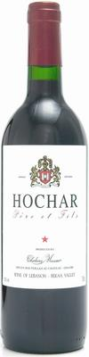 Вино красное сухое «Hochar Pere et Fils» 2011 г.