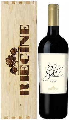 Вино красное сухое «La Gioia» 2012 г., в подарочной упаковке