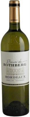 Вино белое сухое «Baron de Rothberg Bordeaux»