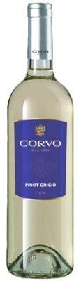 Вино белое сухое «Corvo Pinot Grigio»