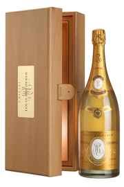 Вино игристое белое брют «Louis Roederer Cristal» 2007 г., в деревянной упаковке
