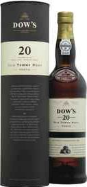 Портвейн сладкое  «Dow's Old Tawny Port 20 Years» в тубе