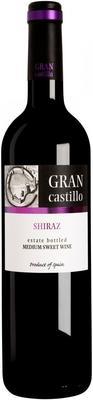 Вино столовое красное полусладкое «Gran Castillo Shiraz»