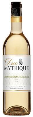 Вино белое сухое «Duo Mythique Chardonnay Muscat» 2013 г.
