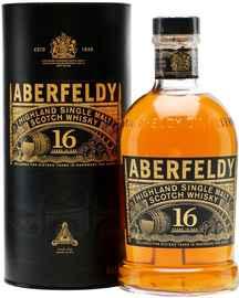 Виски шотландский «Aberfeldy 16 Years Old» в тубе