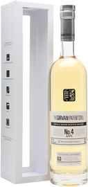 Виски шотландский «Girvan Patent Still №4 Apps» в подарочной упаковке