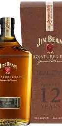 Виски американский «Jim Beam Signature Craft 12 Years Old» в подарочной упаковке
