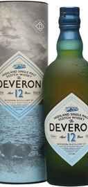 Виски шотландский «Deveron 12 Years Old» в тубе
