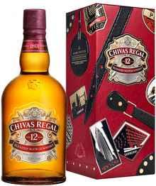 Виски шотландский «Chivas Regal 12 years old» в металлической упаковке
