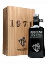 Виски шотландский «Highland Park 1971» в подарочной упаковке