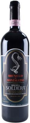 Вино красное сухое «Brunello di Montalcino Riserva Soldera» 1986 г.