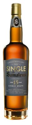 Арманьяк «Single de Samalens 15 Years Old Bas Armagnac» в тубе