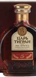 Коньяк армянский «Царь Тигран 5 лет» в подарочной упаковке