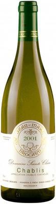 Вино белое сухое «Chablis» 2001 г.