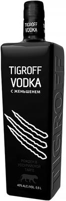 Водка «Tigroff with Ginseng»