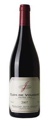 Вино красное сухое «Clos de Vougeot Grand Cru» 2007 г.