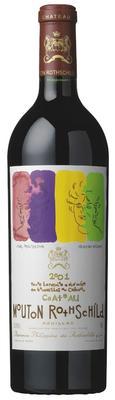 Вино красное сухое «Chateau Mouton Rothschild Pauillac» 2001 г.