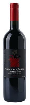 Вино красное полусладкое «Alazani Valley» 2013 г.