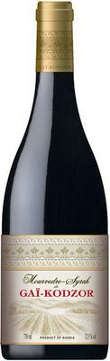 Вино красное сухое «Мourvedre - Syrah de Gai-Kodzor»