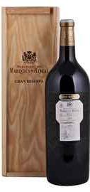 Вино красное сухое «Marques de Riscal Gran Reserva» 2005 г. в подарочной упаковке