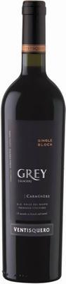 Вино красное сухое «Grey Carmenere» 2013 г.