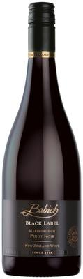 Вино красное сухое «Babich Black Label Marlboroug Pinot Noir» 2015 г.
