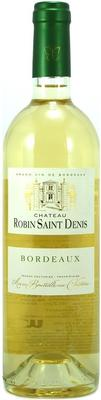 Вино белое сухое «Chateau Robin Saint Denis» 2014