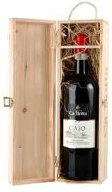 Вино красное полусухое «Amarone della Valpolicella Tenuta Cajo» 2012 г., в деревянном футляре