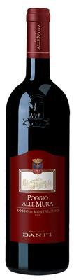 Вино красное сухое «Poggio alle Mura Rosso di Montalcino» 2014 г.