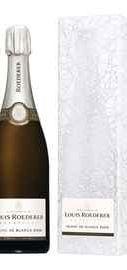 Вино игристое белое брют «Louis Roederer Brut Blanc de Blancs» 2010 г., в подарочной упаковке