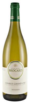 Вино белое сухое «Jean-Marc Brocard Chablis Grand Cru Bougros» 2014 г.