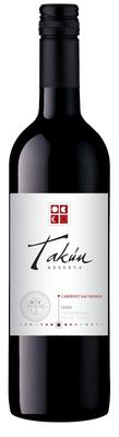 Вино красное сухое «Takun Cabernet Sauvignon Reserva» 2014 г.