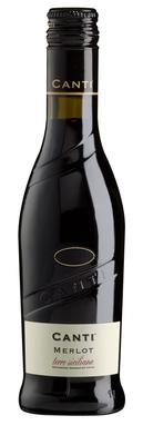 Вино красное сухое «Merlot Terre Siciliane, 0.187 л» 2015 г.