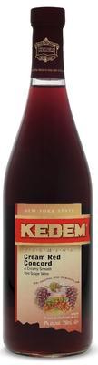 Вино красное сладкое «Cream Red Concord Kedem»
