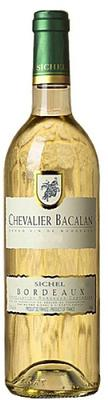 Вино белое сухое «Chevalier Bacalan Blanc» 2012 г.
