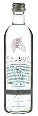 Вода газированная «Dausuz, 0.5 л»